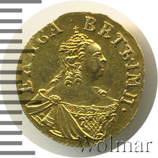 Полтина 1756 г. Елизавета I.