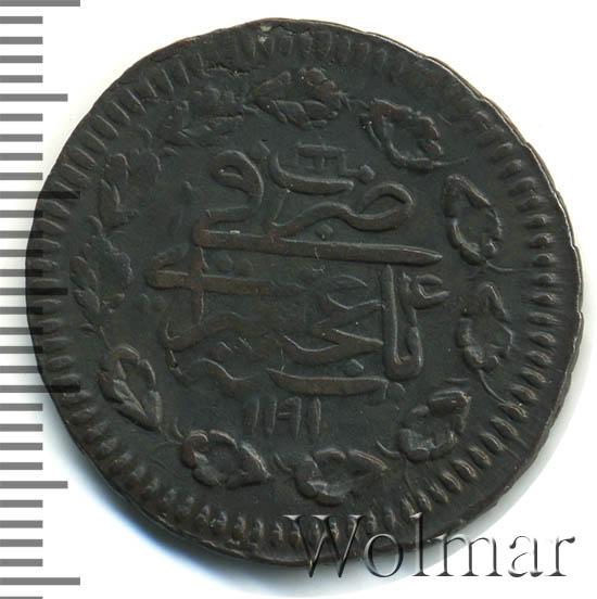 Денга 1781 г. КМ. Екатерина II Новодел