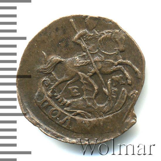 Полушка 1795 г. ЕМ. Екатерина II. Буквы ЕМ