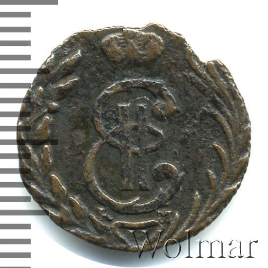Полушка 1779 г. КМ. Сибирская монета (Екатерина II) Тиражная монета