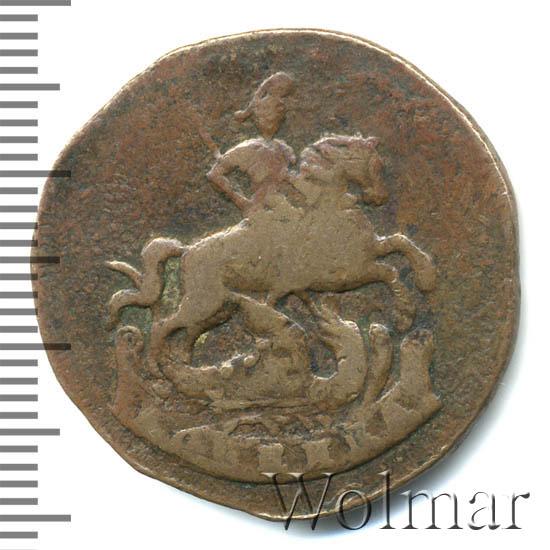 1 копейка 1788 г. ММ. Екатерина II Буквы ММ