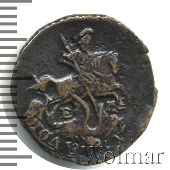 Полушка 1767 г. ЕМ. Екатерина II.