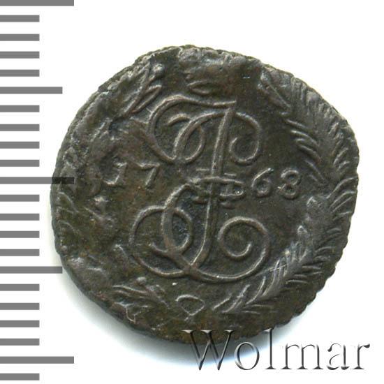 Полушка 1768 г. ЕМ. Екатерина II
