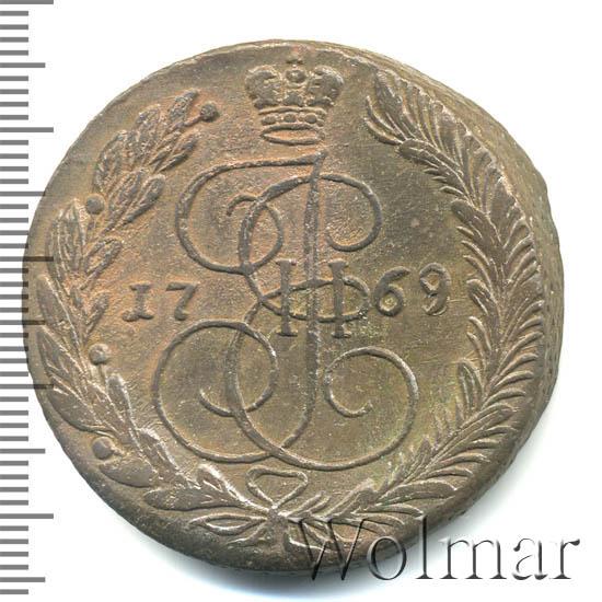 5 копеек 1769 г. ЕМ. Екатерина II Орел 1763-1767