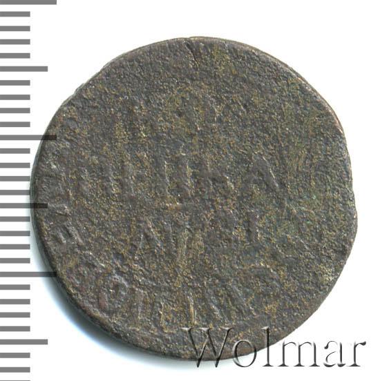1 копейка 1717 г. БК. Петр I. Обозначение монетного двора