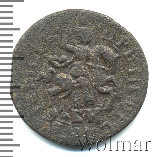 1 копейка 1717 г. БК. Петр I Обозначение монетного двора