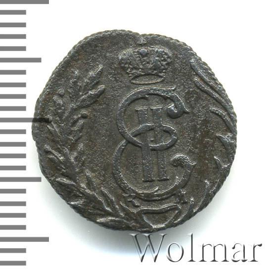 Полушка 1778 г. КМ. Сибирская монета (Екатерина II) Тиражная монета