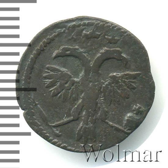 Полушка 1718 г. Петр I Год арабский
