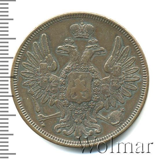 5 копеек 1853 г. ВМ. Николай I. Варшавский монетный двор