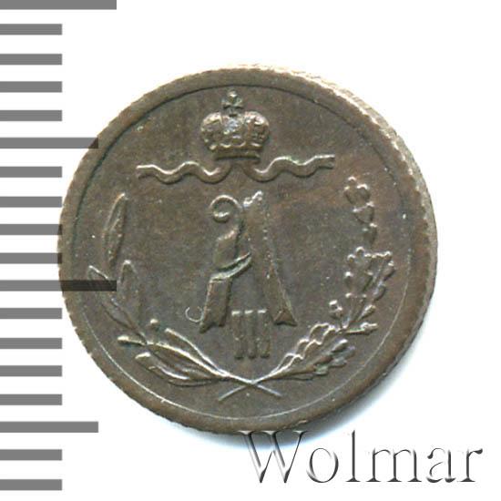 1/4 копейки 1888 г. СПБ. Александр III