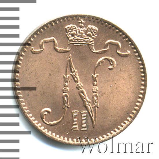 1 пенни 1899 г. Для Финляндии (Николай II)