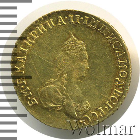 1 рубль 1779 г. Екатерина II (Для дворцового обихода)