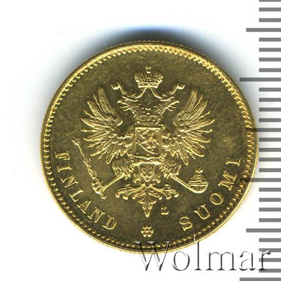 20 марок 1911 г. L. Для Финляндии (Николай II).