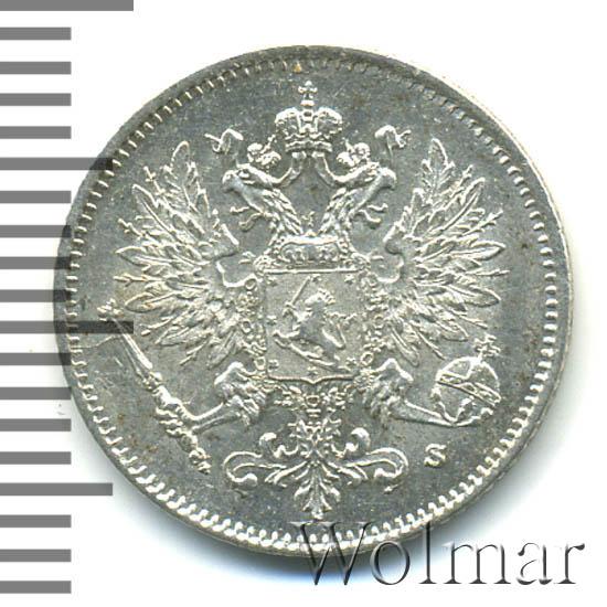 25 пенни 1916 г. S. Для Финляндии (Николай II).