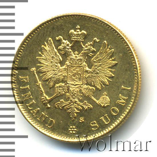 10 марок 1913 г. S. Для Финляндии (Николай II)
