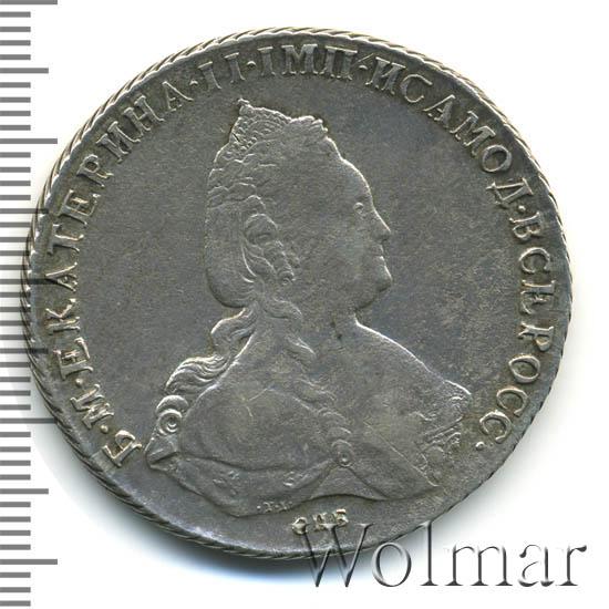 1 рубль 1787 г. СПБ ЯА. Екатерина II