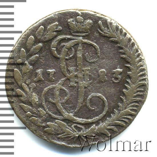 Денга 1783 г. КМ. Екатерина II. Тиражная монета