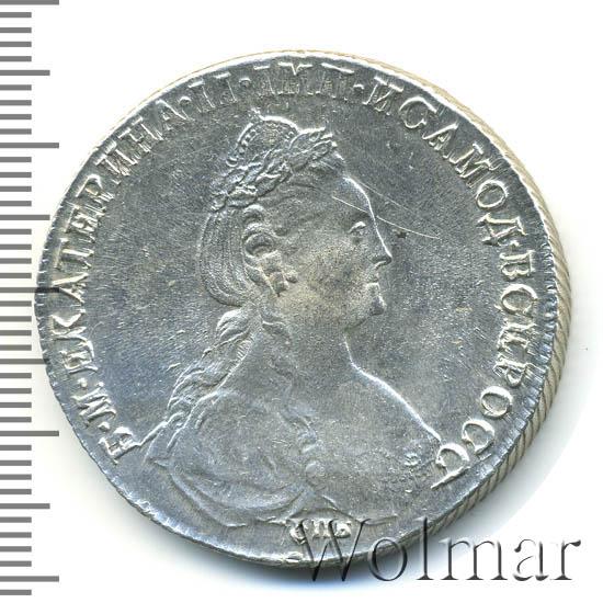 1 рубль 1780 г. СПБ ИЗ. Екатерина II.