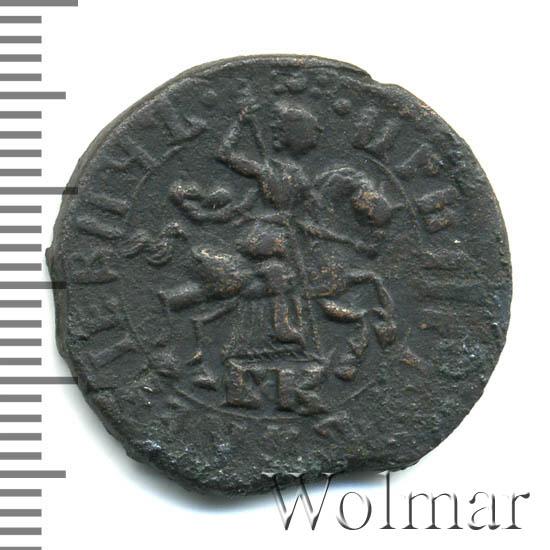 1 копейка 1716 г. БК. Петр I Обозначение монетного двора