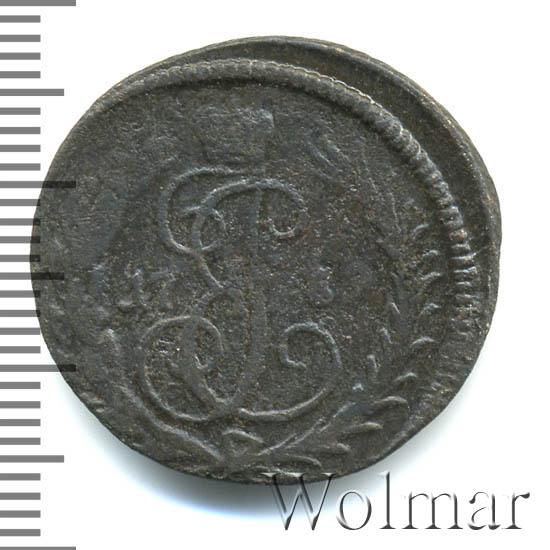 Денга 1789 г. Екатерина II. Без обозначения монетного двора