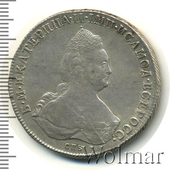 1 рубль 1796 г. СПБ IC. Екатерина II.