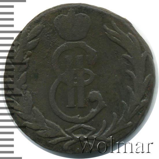 1 копейка 1767 г. Сибирская монета (Екатерина II) Без обозначения монетного двора