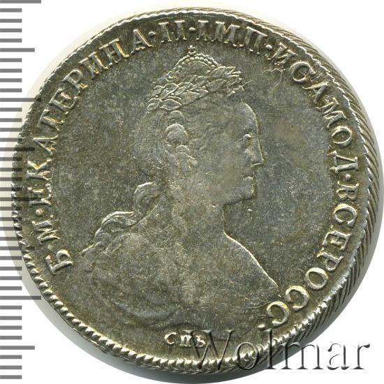 Рубль 1782 года цена монеты под порогом
