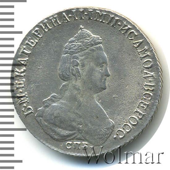 Полуполтинник 1785 г. СПБ ЯА. Екатерина II.
