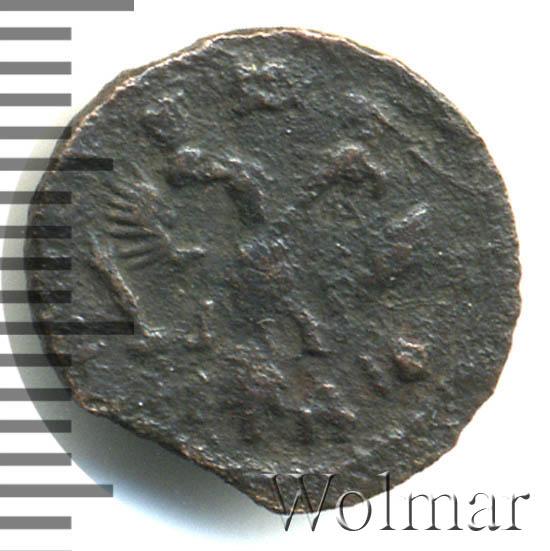 Полушка 1718 г. Петр I Год славянский
