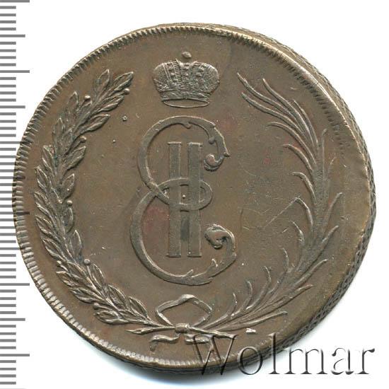 10 копеек 1764 г. Сибирская монета (Екатерина II) Новодел
