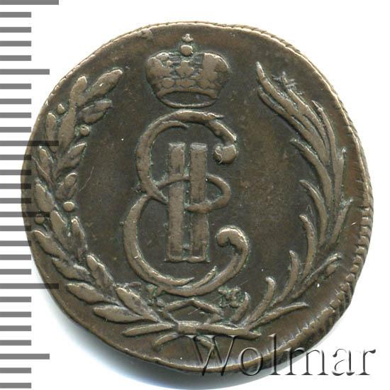 1 копейка 1773 г. КМ. Сибирская монета (Екатерина II). Тиражная монета