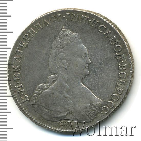 1 рубль 1795 г. СПБ АК. Екатерина II. Инициалы минцмейстера АК