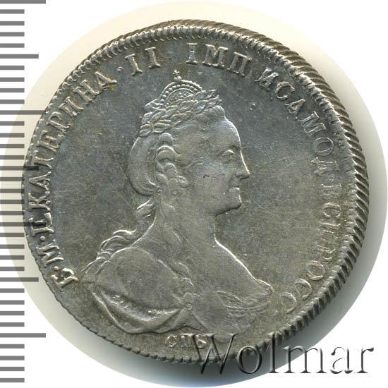Полтина 1778 г. СПБ ФЛ. Екатерина II.