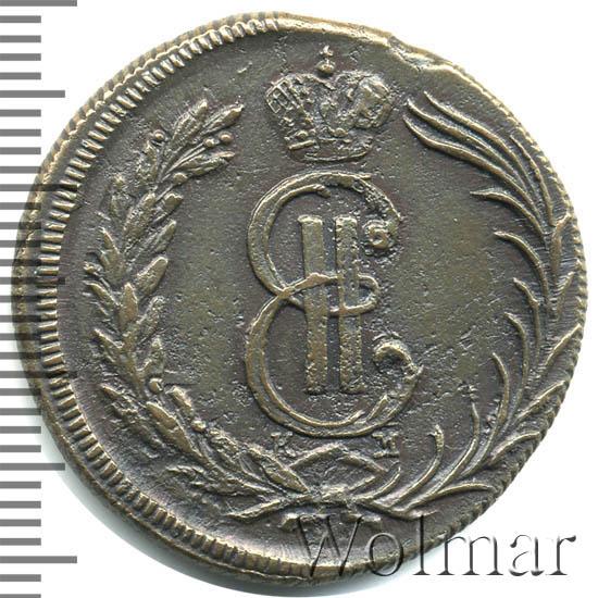 2 копейки 1773 г. КМ. Сибирская монета (Екатерина II). Тиражная монета