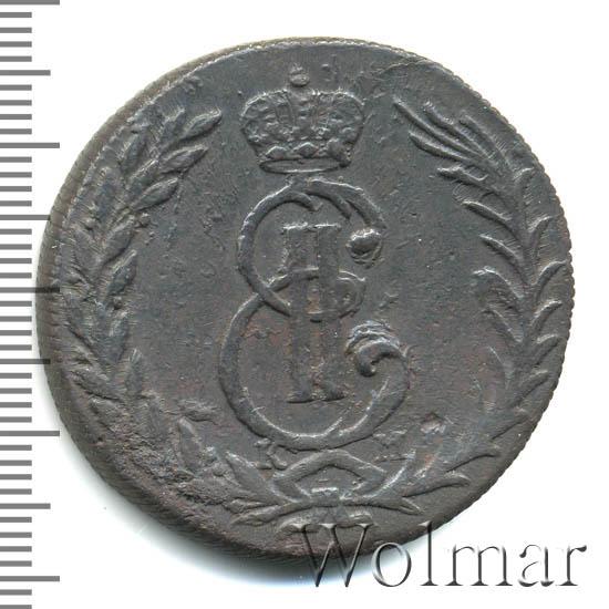 5 копеек 1769 г. КМ. Сибирская монета (Екатерина II). Тиражная монета