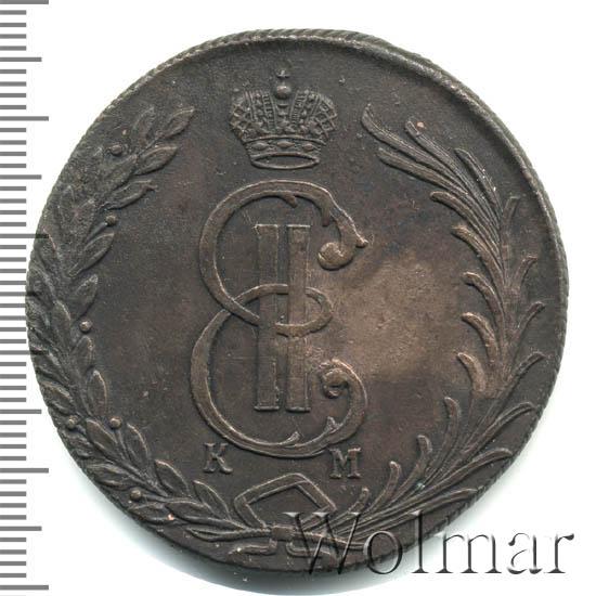 10 копеек 1776 г. КМ. Сибирская монета (Екатерина II). Тиражная монета