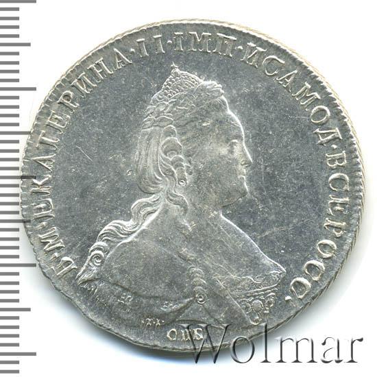 1 рубль 1786 г. СПБ ЯА. Екатерина II.
