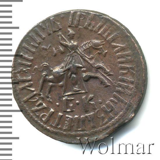 1 копейка 1712 г. БК. Петр I Набережный монетный двор