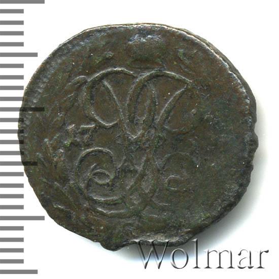 Денга 1760 г. Елизавета I.