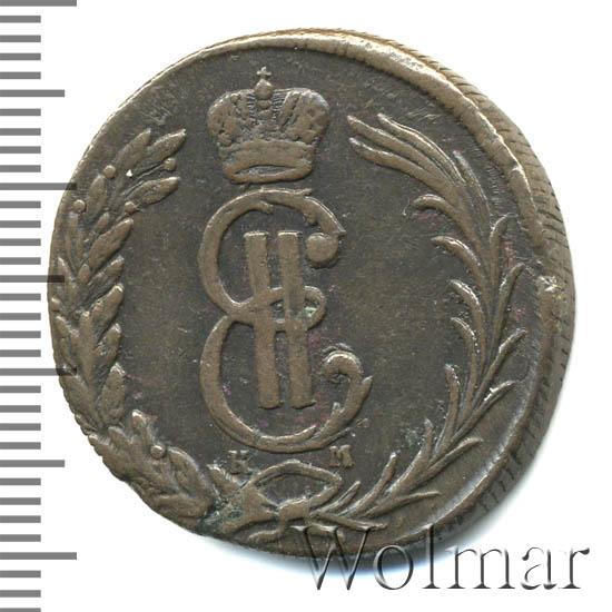 2 копейки 1769 г. КМ. Сибирская монета (Екатерина II). Тиражная монета